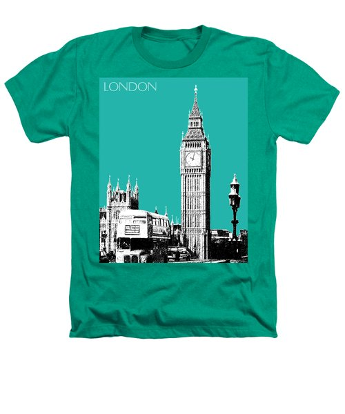 London Skyline Big Ben - Teal Heathers T-Shirt