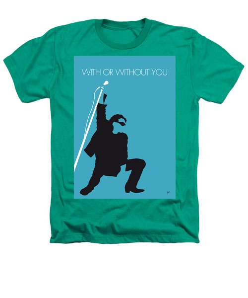 No035 My U2 Minimal Music Poster Heathers T-Shirt
