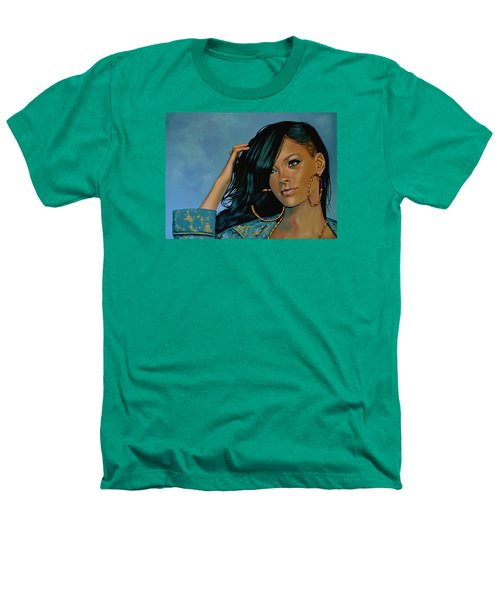 Rihanna Painting Heathers T-Shirt by Paul Meijering