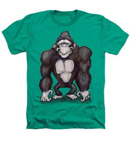 Gorilla Heathers T-Shirt by Kevin Middleton