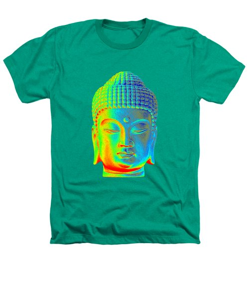 colorful Buddha - Korean Heathers T-Shirt by Terrell Kaucher