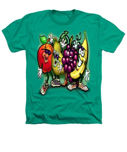 Fruits Heathers T-Shirt by Kevin Middleton