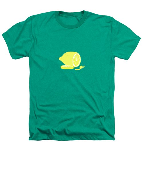 Big Lemon Flavor Heathers T-Shirt by Little Bunny Sunshine