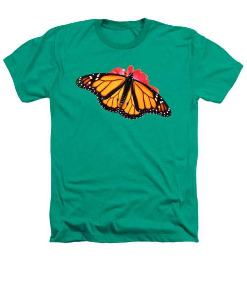 Butterfly Pattern Heathers T-Shirt by Christina Rollo