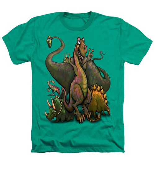 Dinosaurs Heathers T-Shirt by Kevin Middleton