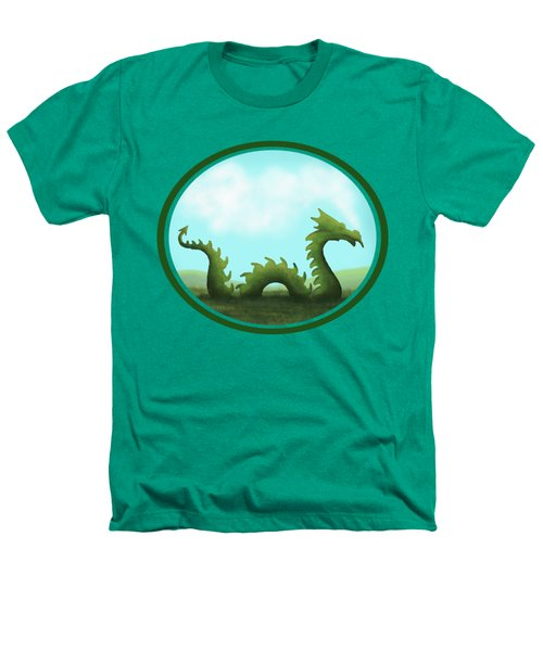 Dream Of A Dragon Heathers T-Shirt by Little Bunny Sunshine