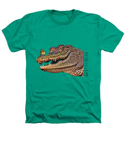 Gator Smile Heathers T-Shirt by Mitch Spence