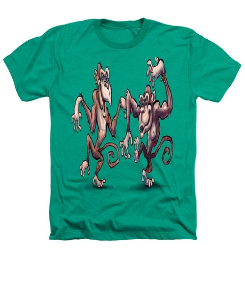 Monkey Dance Heathers T-Shirt