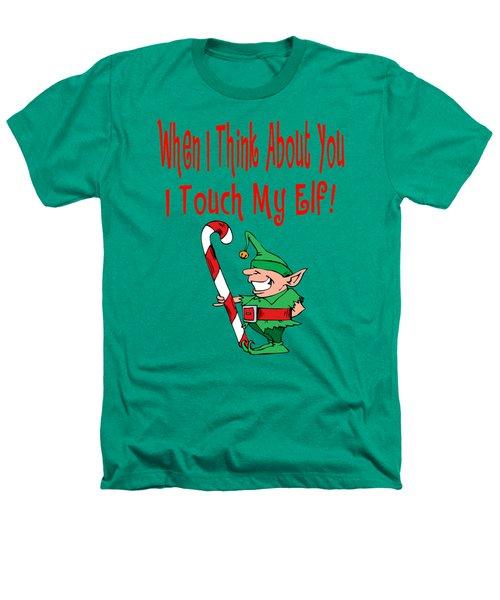 Naughty Christmas Elf Heathers T-Shirt