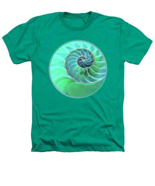 Nautilus Aqua Spiral Heathers T-Shirt