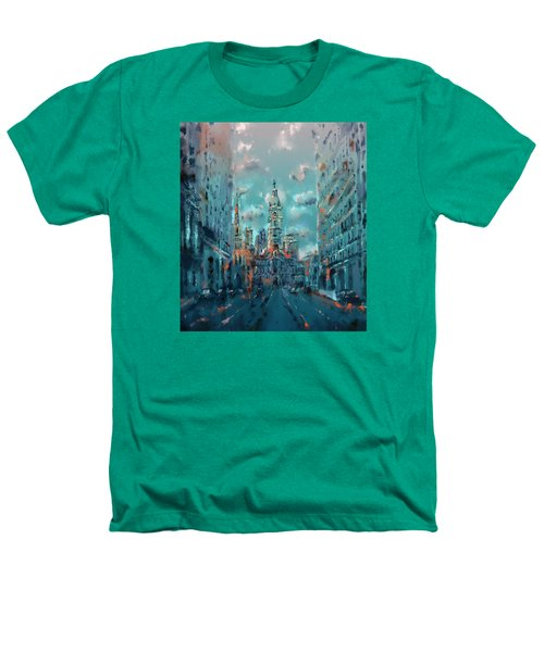 Philadelphia Street Heathers T-Shirt by Bekim Art