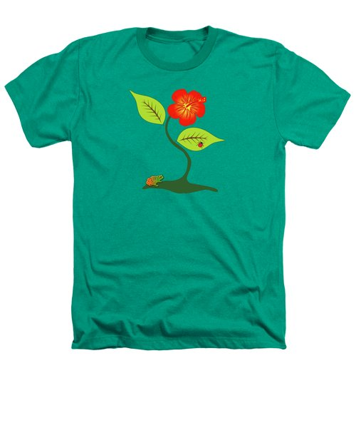 Plant And Flower Heathers T-Shirt by Gaspar Avila