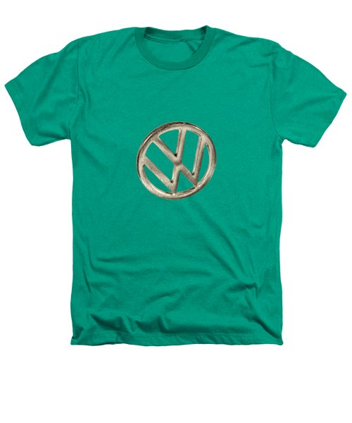 Vw Car Emblem Heathers T-Shirt by YoPedro