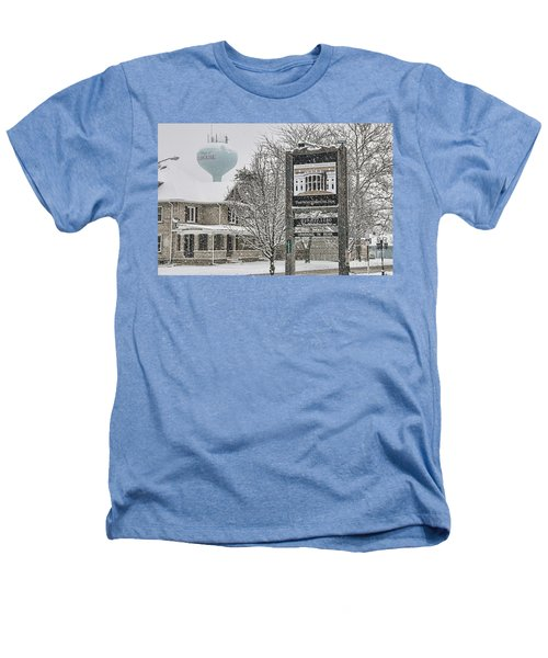The Whitehouse Inn Sign 7034 Heathers T-Shirt by Jack Schultz
