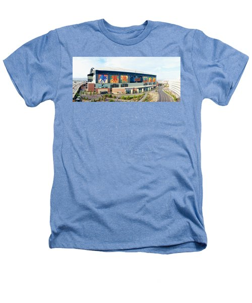 High Angle View Of A Baseball Stadium Heathers T-Shirt