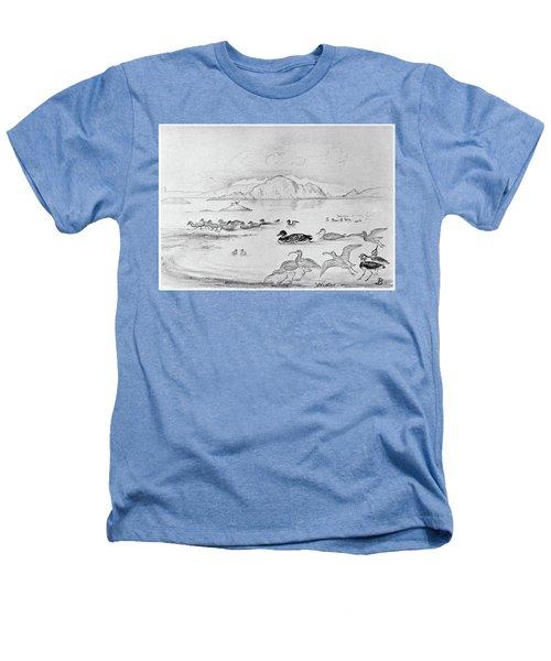 Blackburn Birds, 1895 Heathers T-Shirt
