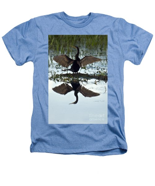 Anhinga Heathers T-Shirt by Mark Newman