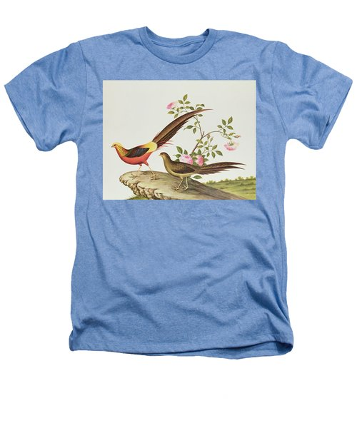 A Golden Pheasant Heathers T-Shirt by Chinese School
