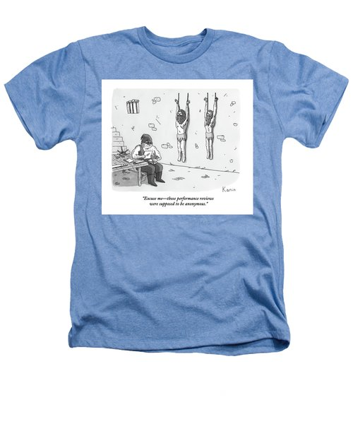 A Prisoner In A Dungeon Speaks To A Torturer Who Heathers T-Shirt