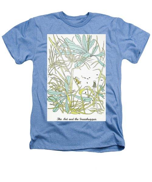 Aesop: Ant & Grasshopper Heathers T-Shirt by Granger