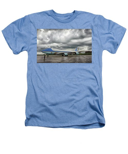 Air Force One Heathers T-Shirt by Mountain Dreams