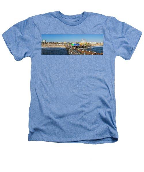 Amusement Park, Santa Monica Pier Heathers T-Shirt