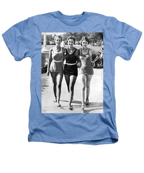 Army Bathing Suit Trio Heathers T-Shirt by Underwood Archives