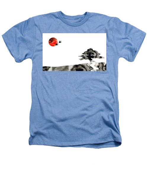 Awakening - Zen Landscape Art Heathers T-Shirt
