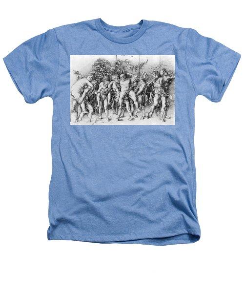 Bacchanal With Silenus - Albrecht Durer Heathers T-Shirt by Daniel Hagerman