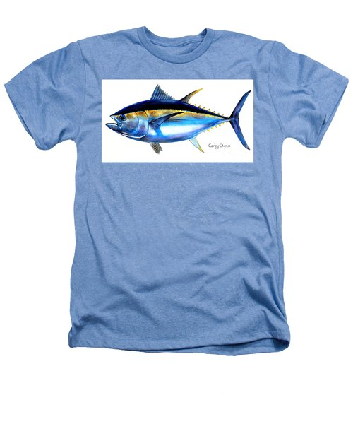 Big Eye Tuna Heathers T-Shirt by Carey Chen