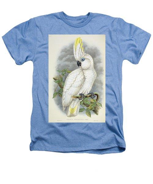 Blue-eyed Cockatoo Heathers T-Shirt