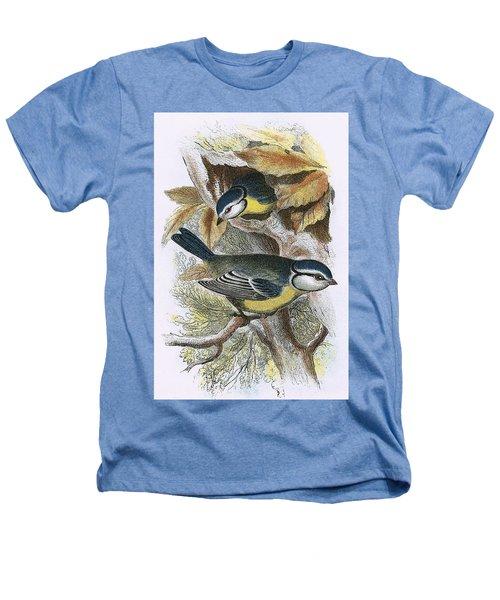 Blue Titmouse Heathers T-Shirt