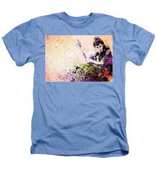 Bruce Springsteen Splats 2 Heathers T-Shirt