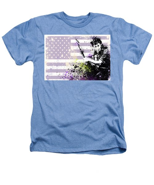Bruce Springsteen Splats Heathers T-Shirt