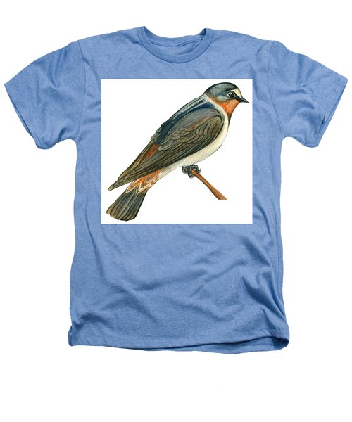 Cliff Swallow  Heathers T-Shirt by Anonymous