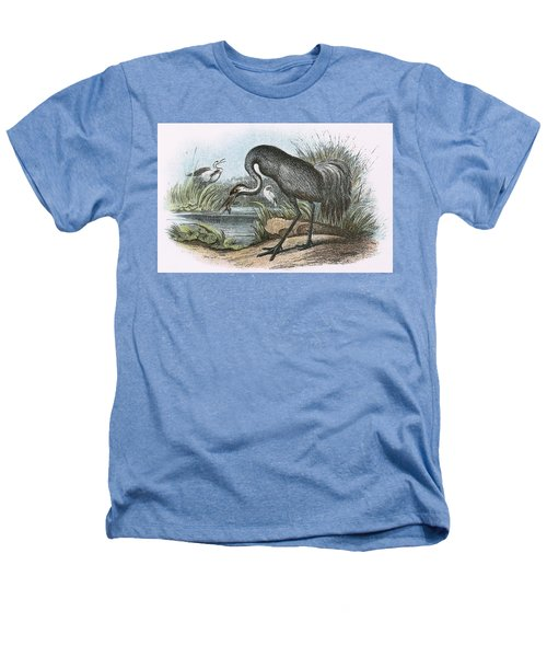Common Crane Heathers T-Shirt by English School