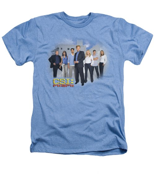 Csi - Miami Cast Heathers T-Shirt by Brand A