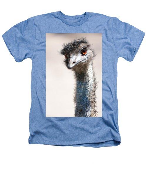 Curious Emu Heathers T-Shirt by Carol Groenen
