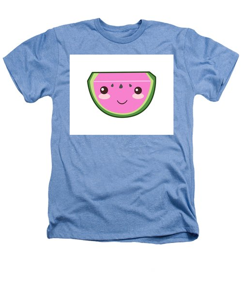Cute Watermelon Illustration Heathers T-Shirt by Pati Photography