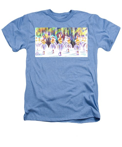 Dancers In The Forest II Heathers T-Shirt by Kip DeVore