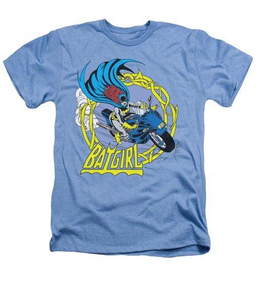 Dc - Batgirl Motorcycle Heathers T-Shirt