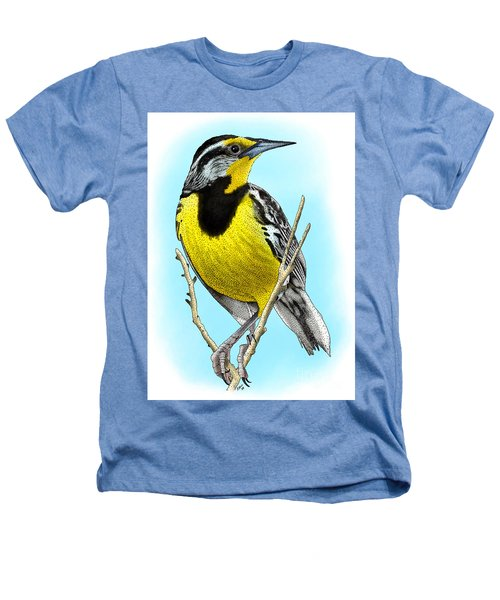 Eastern Meadowlark Heathers T-Shirt