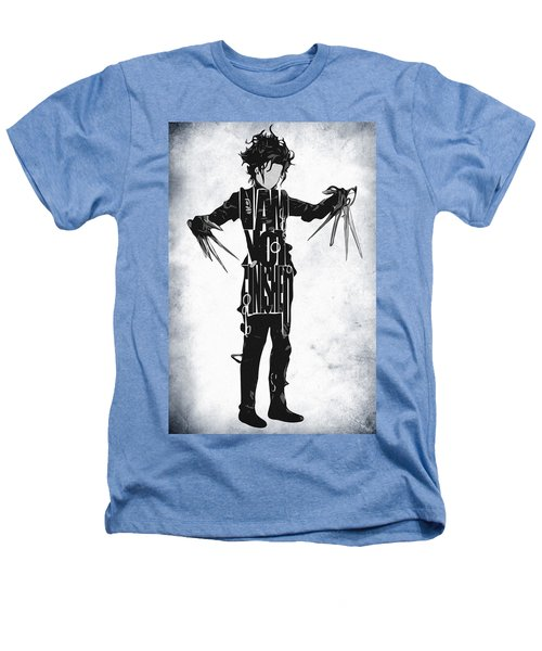 Edward Scissorhands - Johnny Depp Heathers T-Shirt by Ayse Deniz