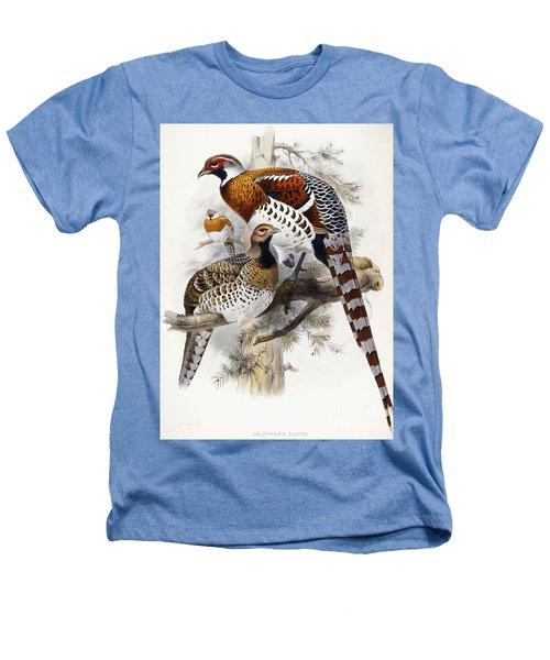 Elliot's Pheasant Heathers T-Shirt by Joseph Wolf