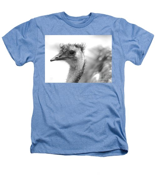 Emu - Black And White Heathers T-Shirt by Carol Groenen