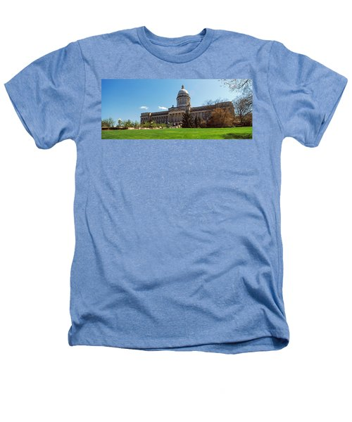 Facade Of State Capitol Building Heathers T-Shirt by Panoramic Images