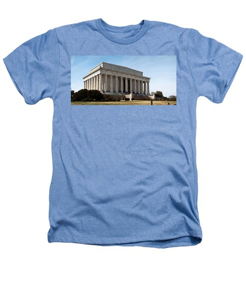 Facade Of The Lincoln Memorial, The Heathers T-Shirt by Panoramic Images