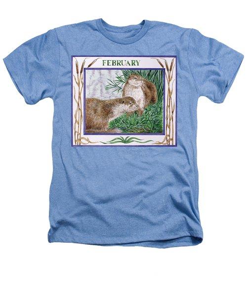 February Wc On Paper Heathers T-Shirt by Catherine Bradbury