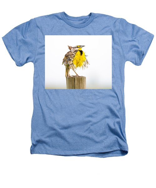 Flluffy Meadowlark Heathers T-Shirt