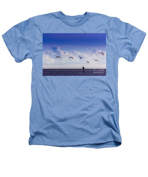 Flying Free Heathers T-Shirt by Marvin Spates